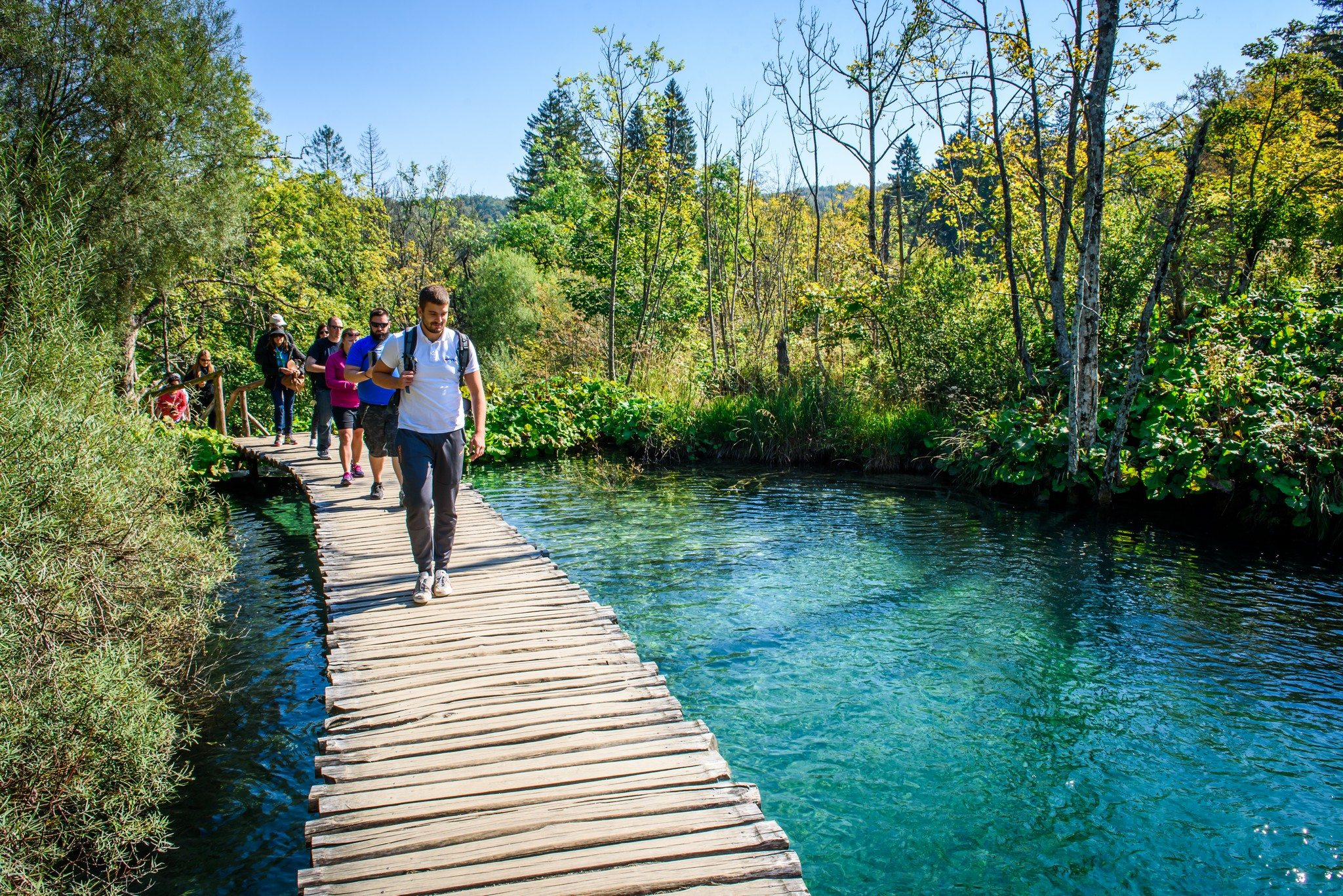 Day Tour To Plitvice Lakes From Trogir